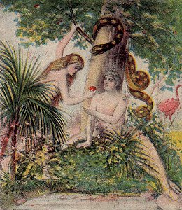 The Serpent (Satan) Deceives Adam and Eve