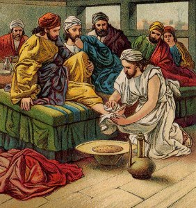 Jesus Washes the Apostles' Feet