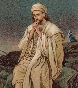 Jesus Fasts Forty Days in the Wilderness