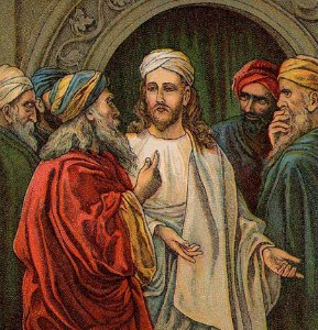 The Pharisees and Sadducees Try to Trap Jesus