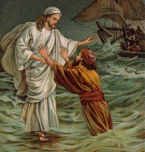 Peter Joins Jesus On the Water