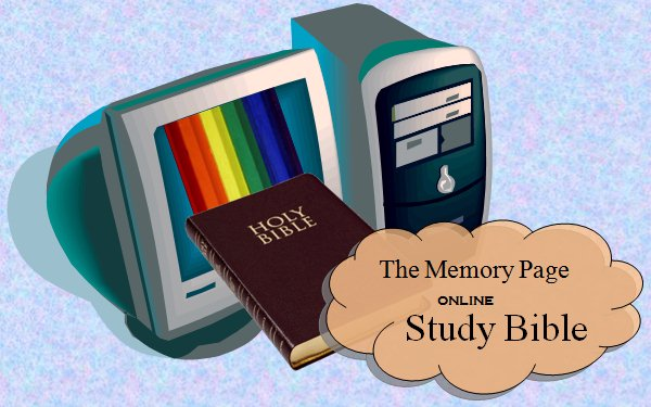 The Memory Page Study Bible